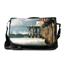 Manhattan Beach Pier  Messenger Bag
