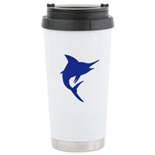 Blue Marlin Fish Travel Mug