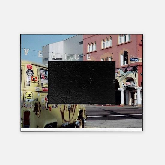 Hippy Van Venice Beach Picture Frame