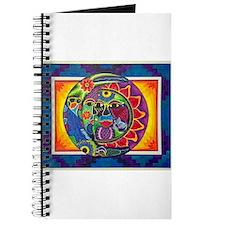 Aztec Sun and Moon Journal