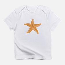 Orange Starfish Infant T-Shirt