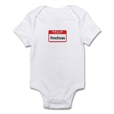 Hello Anastasia Infant Bodysuit