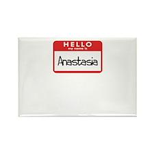 Hello Anastasia Rectangle Magnet