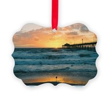Hermosa Beach Pier Ornament