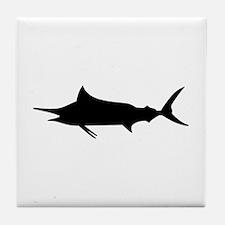 Marlin Fish Tile Coaster