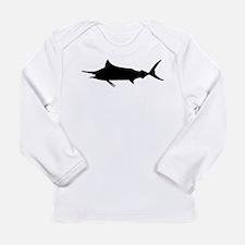 Marlin Fish Long Sleeve Infant T-Shirt