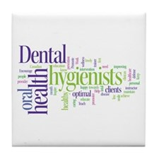 Cute Hygienist Tile Coaster