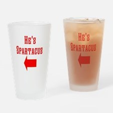 Spartacus Drinking Glass