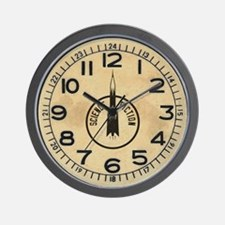 Science Fiction Vintage Logo Wall Clock