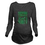 Everyone is Irish Long Sleeve Maternity T-Shirt