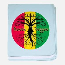 Roots Reggae Designs-3 baby blanket
