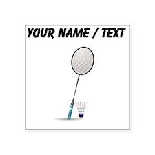 Custom Badminton Sticker