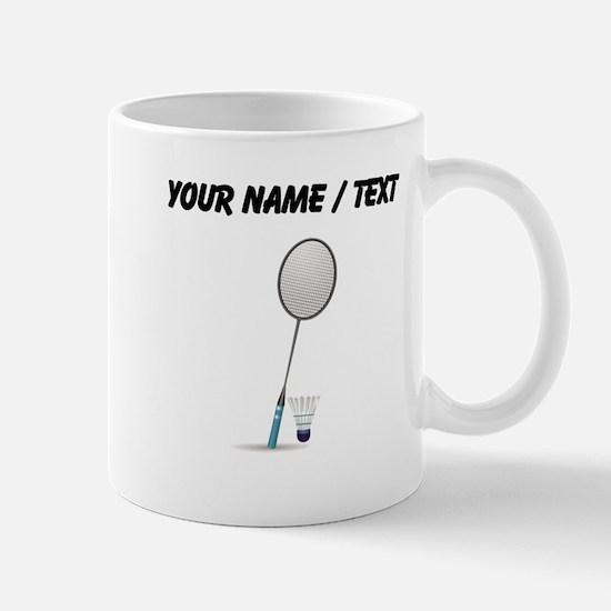 Custom Badminton Mugs