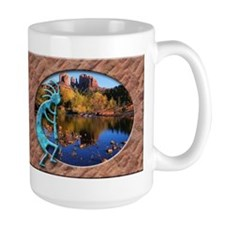 Kokopelli in Sedona 15oz. Mug