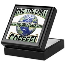 Save the Earth, Its the only place wi Keepsake Box
