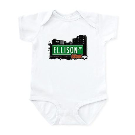 Ellison Av, Bronx, NYC Infant Bodysuit