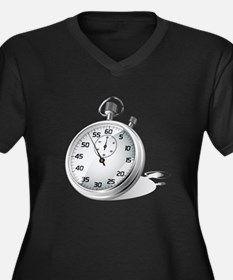 Stopwatch Plus Size T-Shirt