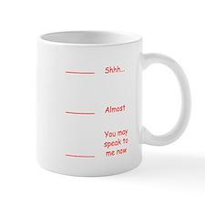 Coffee measuring cup funny permission t Mug
