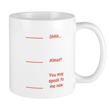 Coffee measuring cup funny permission t Small Mug