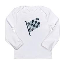 Checkered Flag Long Sleeve T-Shirt