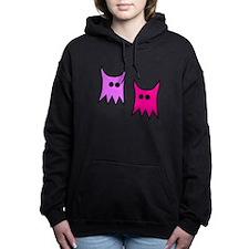 Purple and Pink Monster Ghosts Hooded Sweatshirt
