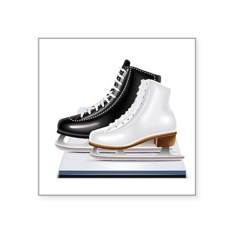 Figure Skating Skates Sticker