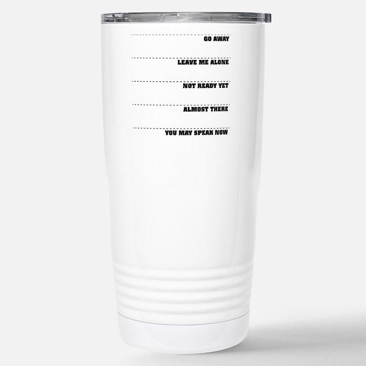 Coffee Mug Tollerance Scale Travel Mug