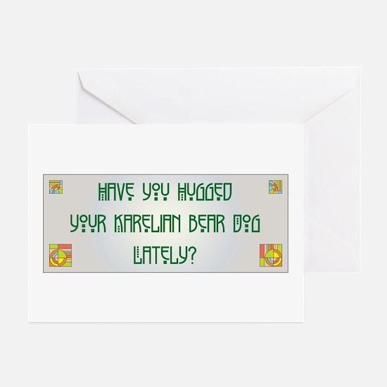 Hugged Karelian Greeting Cards (Pk of 10)