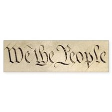 """We the People"" Bumper Stickers"