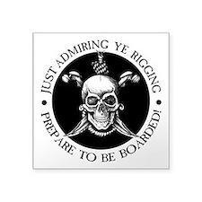 Prepare To Be Boarded Sticker