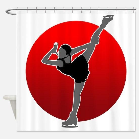I Love Figure2 Shower Curtain