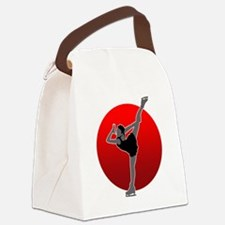 I Love Figure2 Canvas Lunch Bag