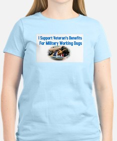 Military Dog Support T-Shirt