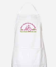 Two wheels move the soul Apron