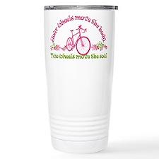 Two wheels move the soul Travel Mug