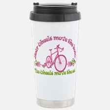 Two wheels move the soul Travel Mug