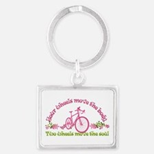 Two wheels move the soul Keychains