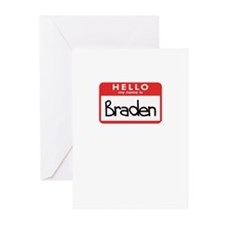 Hello Braden Greeting Cards (Pk of 10)