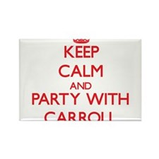 Keep calm and Party with Carroll Magnets
