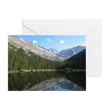 Reflection At Rocky Mountain Greeting Card
