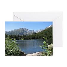 Bear Lake At Rocky Mountain National Greeting Card
