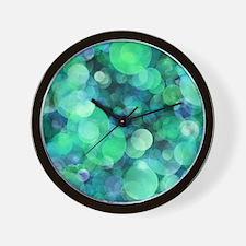 Unique Bubbles Wall Clock