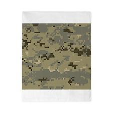 Military Camo Twin Duvet
