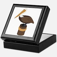 Brown Pelican Keepsake Box