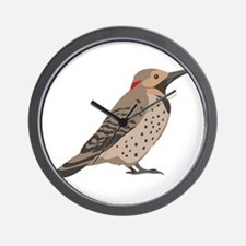 Northern Flicker Wall Clock