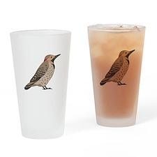 Northern Flicker Drinking Glass