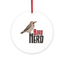 Bird Nerd Ornament (Round)