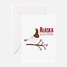 Alaska Willow Greeting Cards