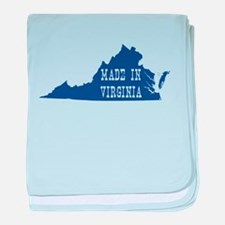 Virginia baby blanket