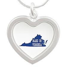 Virginia Silver Heart Necklace